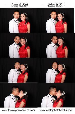 Kat and John's Wedding PhotoStrips