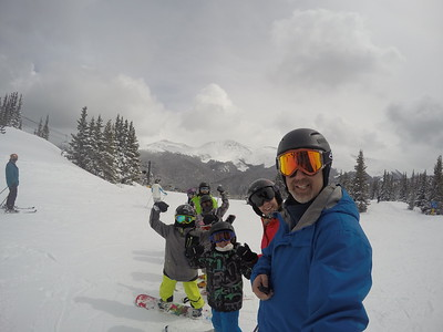 Skiing Winter Park 2016