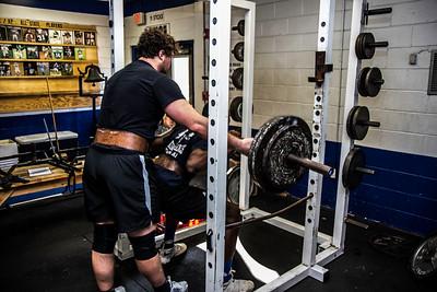 2018 Weight Training