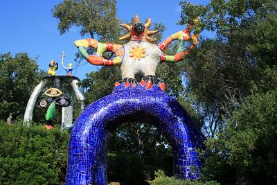 Niki de Saint Phalle: Il Giardino dei Tarocchi