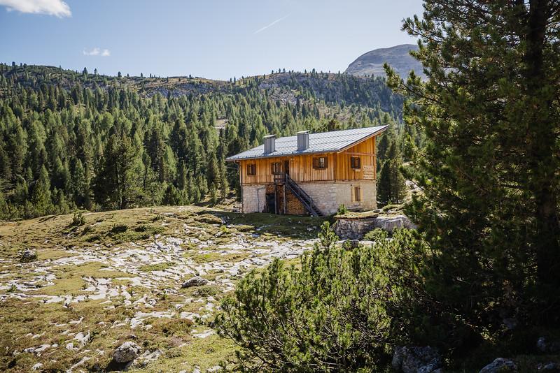 Mountain Refugio in Italy