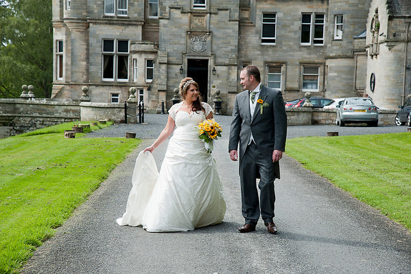 June 2014 - Penny and Craigs Kinnettles Castle Wedding