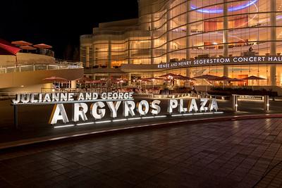 SCFTA Argyros Plaza Signage