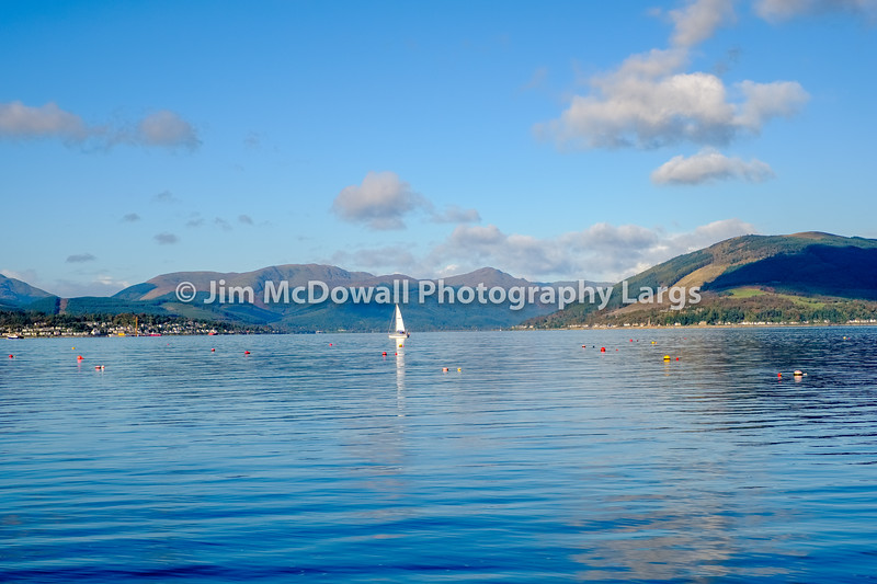 The River Clyde Up to the Hly Loch & Beyond with a Loan yacht & Reflections