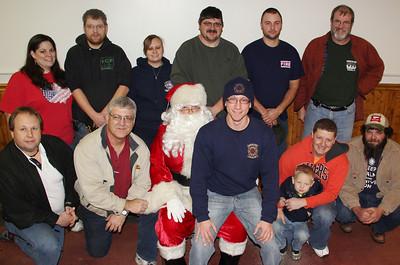 Santa Visits Kids, Public Event, American Hose Company, Tamaqua (12-22-2013)