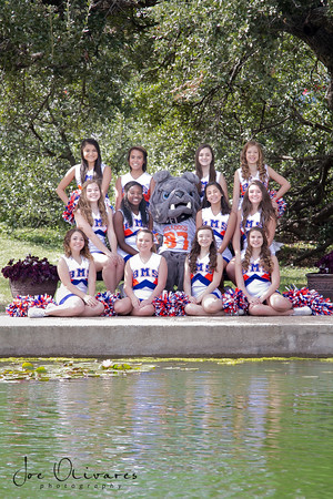 Bonham Middle School Cheer
