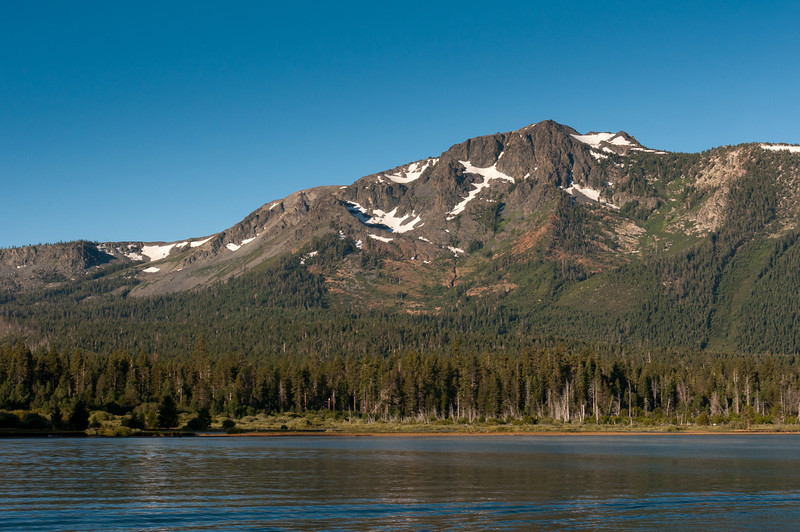 View of Sierra Nevada Mountain from Lake Tahoe, Nevada