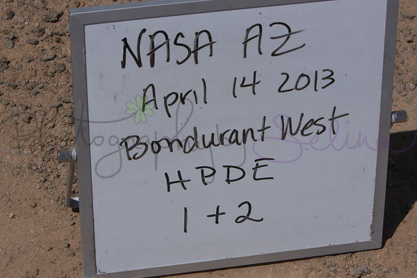 HPDE 1 & 2 - April 14 2013