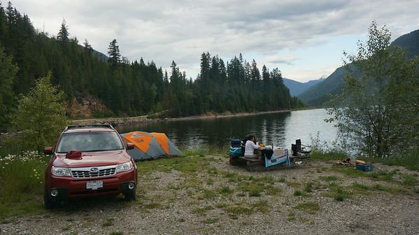 Okanagan Car Camping 2014