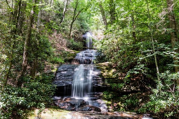 Desoto & Dicks Creek Falls
