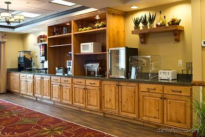Saunders Best Western Hotel, South Ogden - Anvil Cabinet & Mill