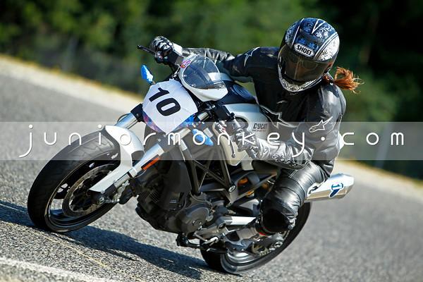 #10 - White Ducati
