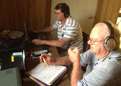 Field Day 1, HAM Radio, from Kelly Boerner, Barnesville (6-22-2013)