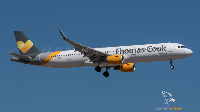 Thomas Cook Scandinavia / Airbus A321-211(WL) / OY-TCE