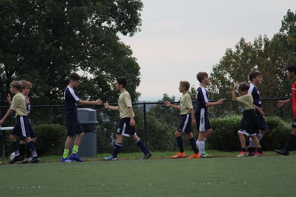 Grade 8 Boys Soccer