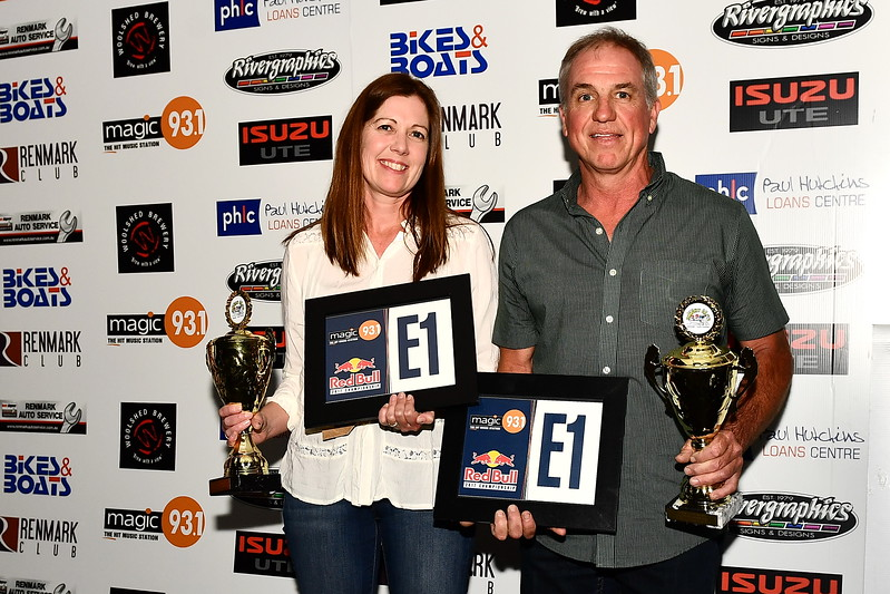25HP Standard 1st Place Mark Webber/ Tanya Webber
