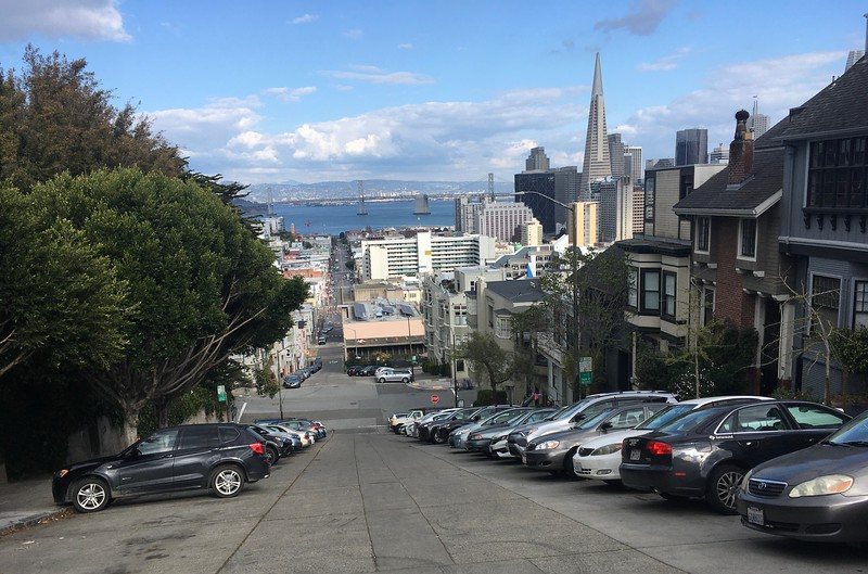 The steep streets of San Francisco
