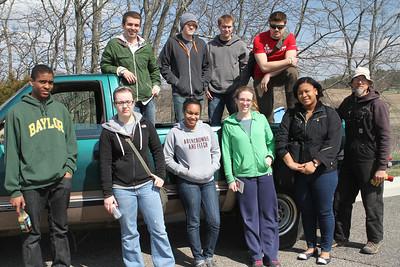 Edgewood College Volunteers@ HWM