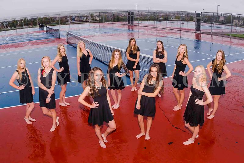 2014-15 Chap Varsity Tennis