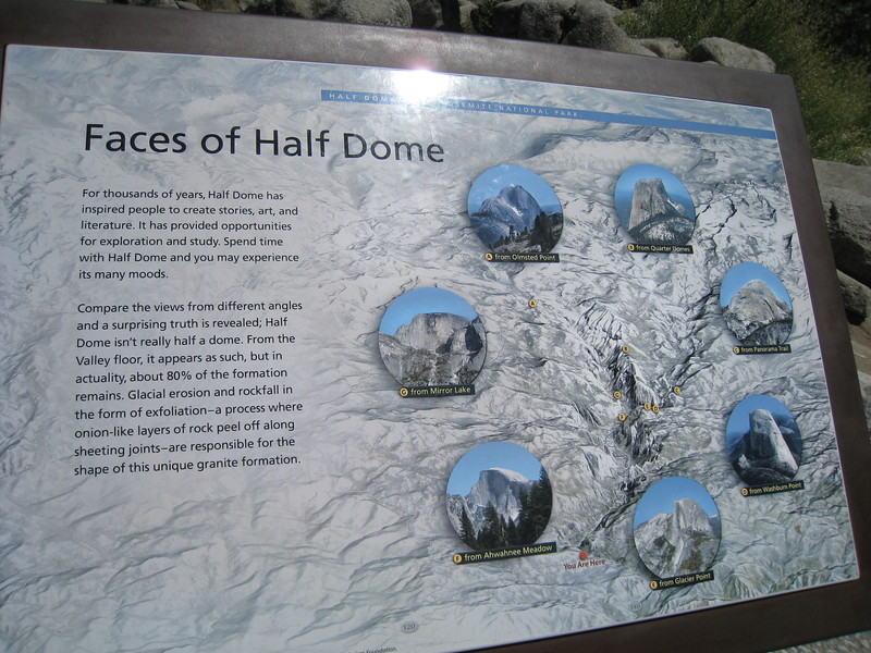 Half Dome Viewpoints