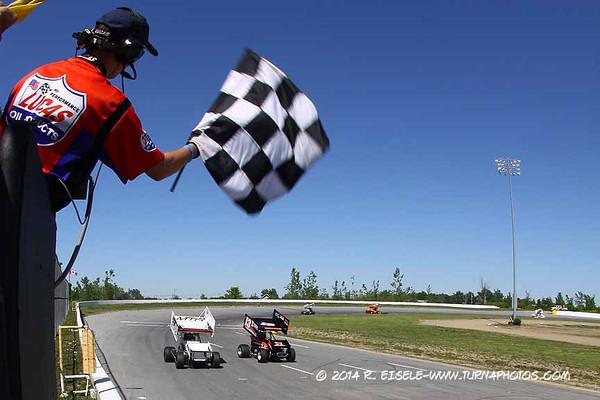 06/07/14 Evans Mills Motorsports Park Featuring Empire Super Sprints