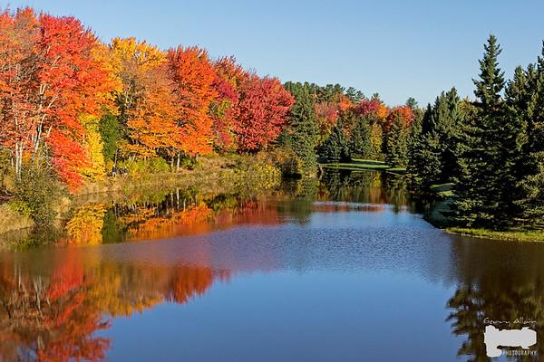 Moncton NB Centennial Park Fall