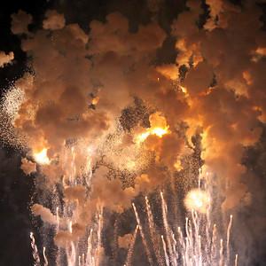 July 4th, Detroit Fireworks '09