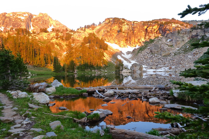 Reflection on Day 5 - Holly Lake - Grand Teton National Park