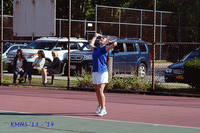 Girls Var Tennis 9-16-13MrO'Connor