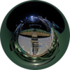 Fenway Park in little planet projection