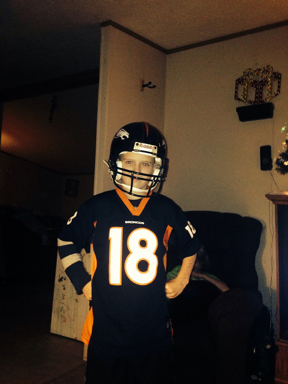 . Take it to the pewtriots!!! Go Broncos. (Photo by Skip Powell)