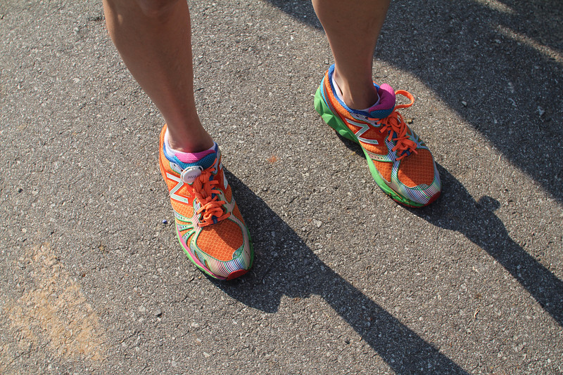 most colorful running shoe awardee