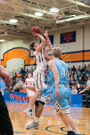 Wheaton College Men's Basketball vs Elmhurst, February 4, 2017