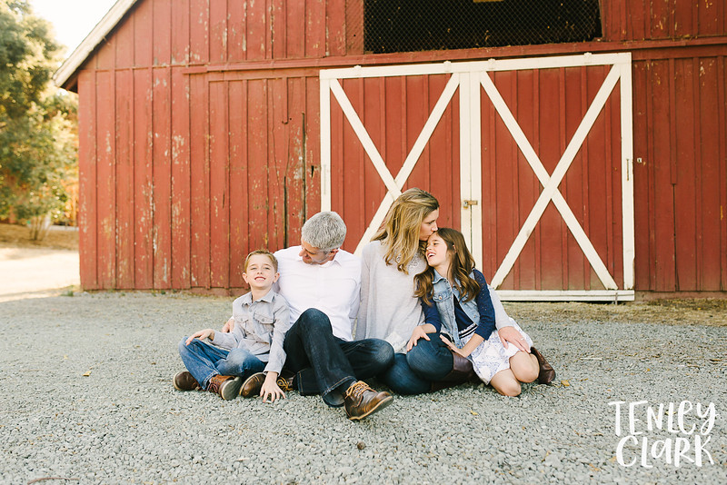 Bay Area lifestyle family photography session at ranch in Cupertino, CA by Tenley Clark Photography.