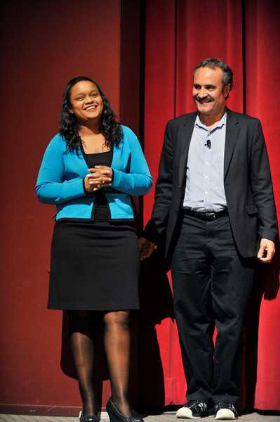 FORD MOTOR COMPANY SPONSORS 5TH ANNUAL NAACP IMAGE AWARDS HOLLYWOOD SYMPOSIUM HELD AT THE ACADEMY OF TELEVISION ARTS & SCIENCES AT THE GOLDENSON THEATRE IN NORTH HOLLYWOOD CALIFORNIA ON FEBRUARY 9, 2009VIC BULLUCK AND PAMELA ALEXANDER