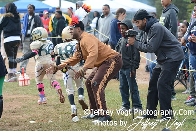 10-11-2014 Montgomery Village Sports Association Chiefs vs Lamond Riggs Steelers Mighty Mites, Photos by Jeffrey Vogt Photography