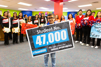 Robert Rojas 47,000th Student