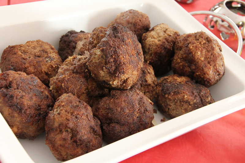 Holland Cooking Class November 30, 2011: Dutch meat balls
