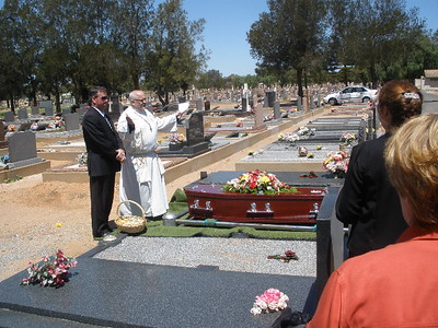 Uncle Clarry's Jenke funeral