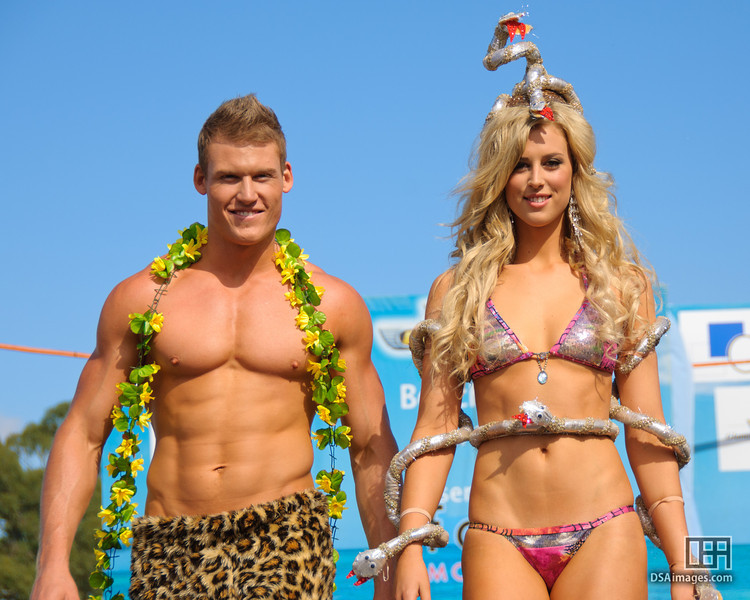 Beachwear parade presented by Fox Models