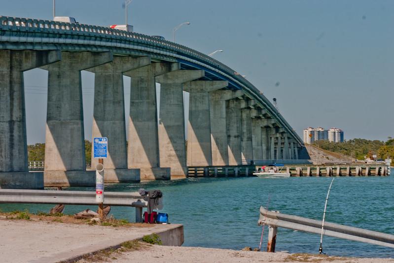 Bridge over the River in Florida