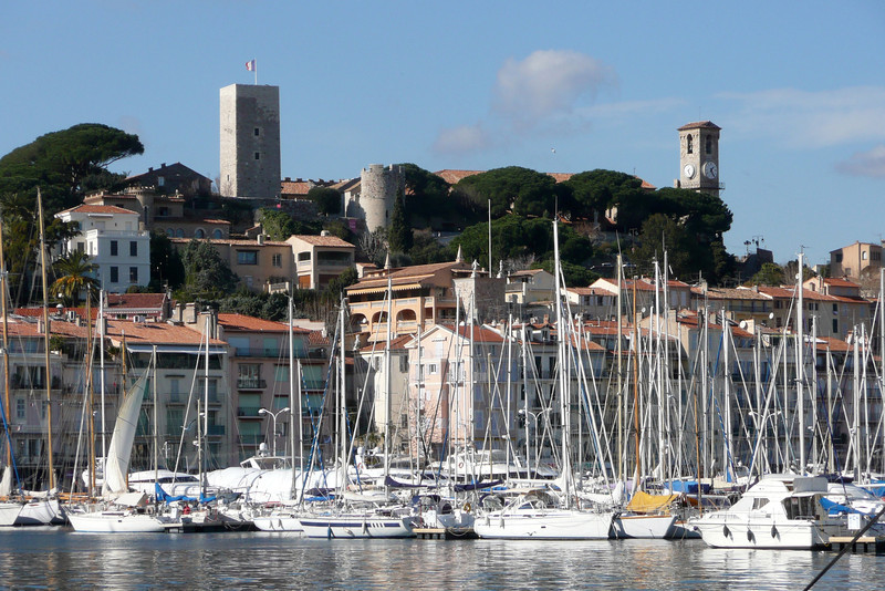 Port and Old Town. Cannes, France