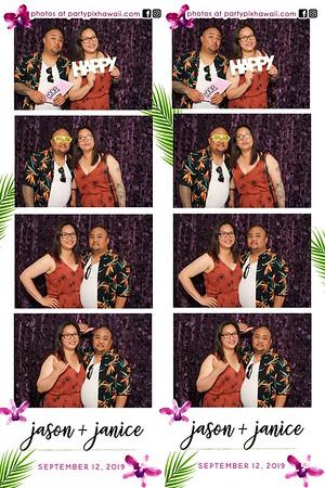 Janice & Jason's Wedding (LED Dazzle Photo Booth)
