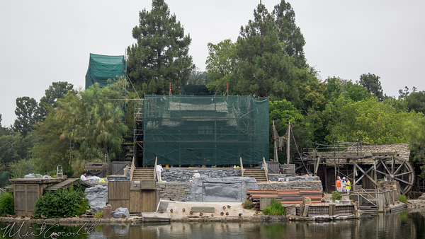 Disneyland Resort, Disneyland, Frontierland, Tom, Sawyer, Island, Refurbishment, Refurbish, Refurb