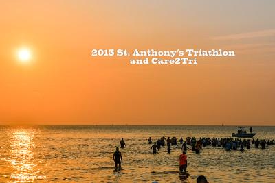 2015 St. Anthonys Triathlon and Care2tri
