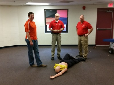 2016-11 First Aid class