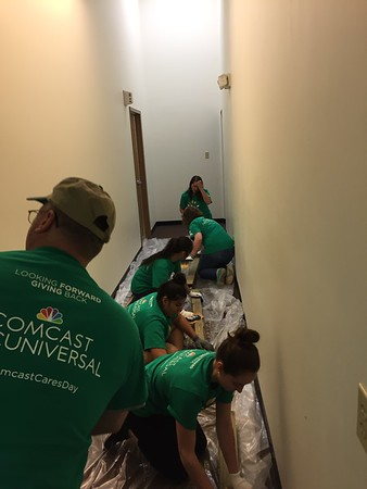 Earth Day Service Day with Comcast Cares