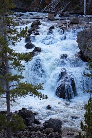 Yellowstone Firehole Falls