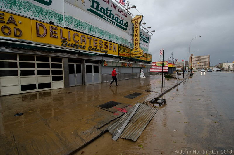 Nathan's after the storm.