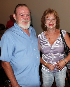 Larry Amick and his wife.  Oooops!  We didn't get her name.  Please  E-mail us and let us know.  Thanks!
